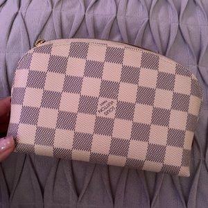 Louis Vuitton damier azur cosmetic bag